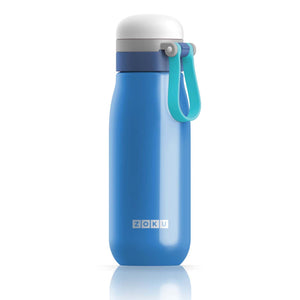 Zoku Ultralight Stainless Steel Bottle - Blue