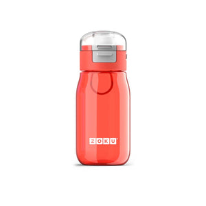 Zoku Flip Gulp Kids Bottle - Red