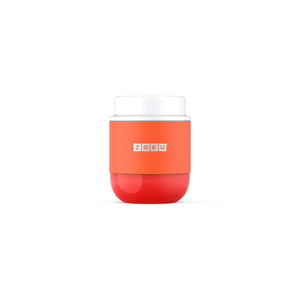 Zoku Stainless Steel Food Jar - Orange