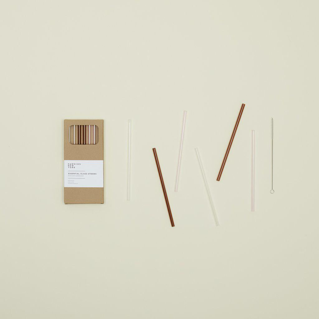 Hawkins & New York | Essential Glass Straws