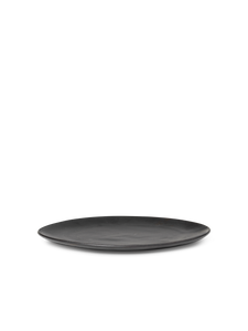 Ferm Living Flow Medium Plate | Black
