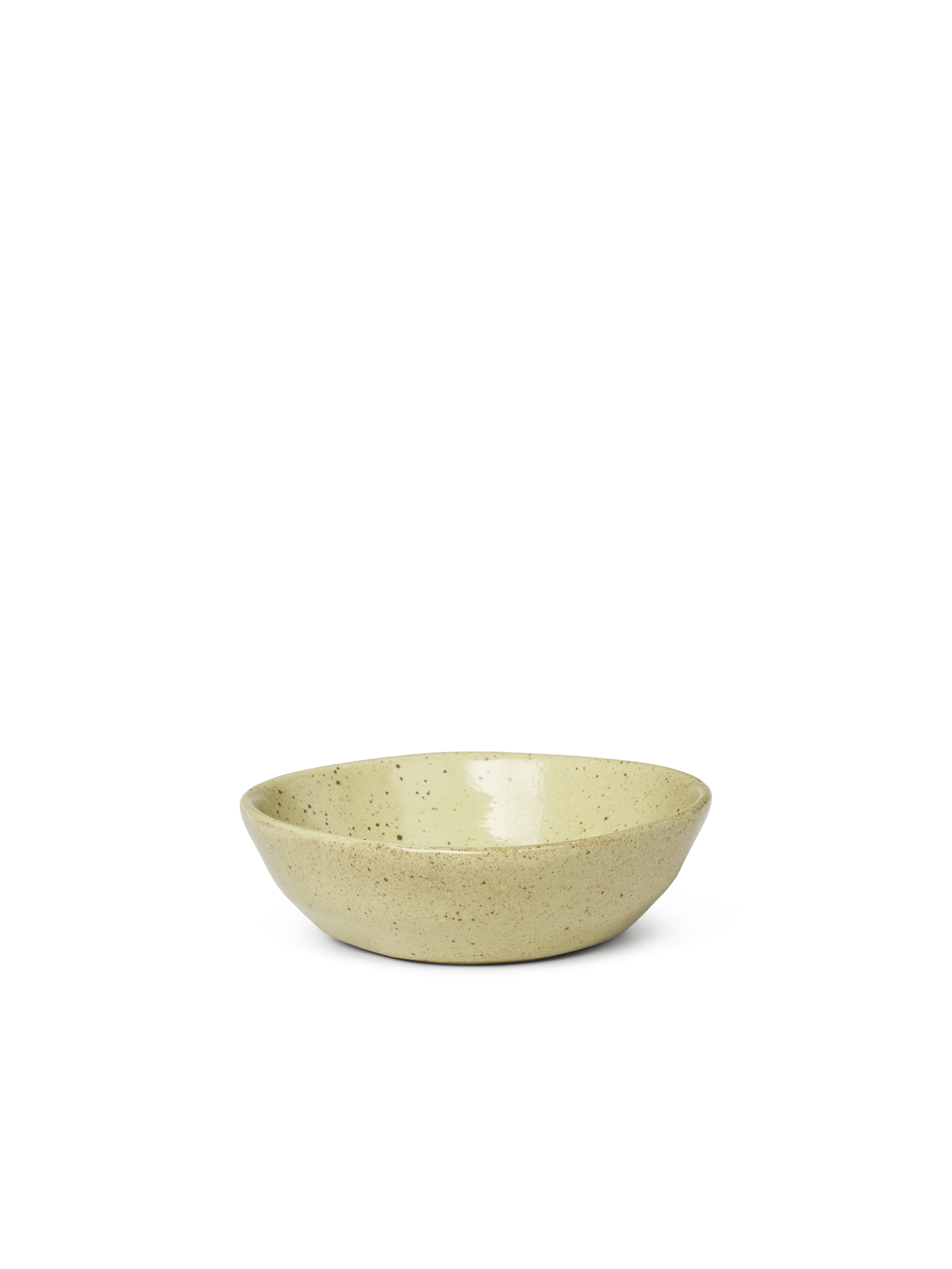 Ferm Living Flow Bowl |Yellow Speckle