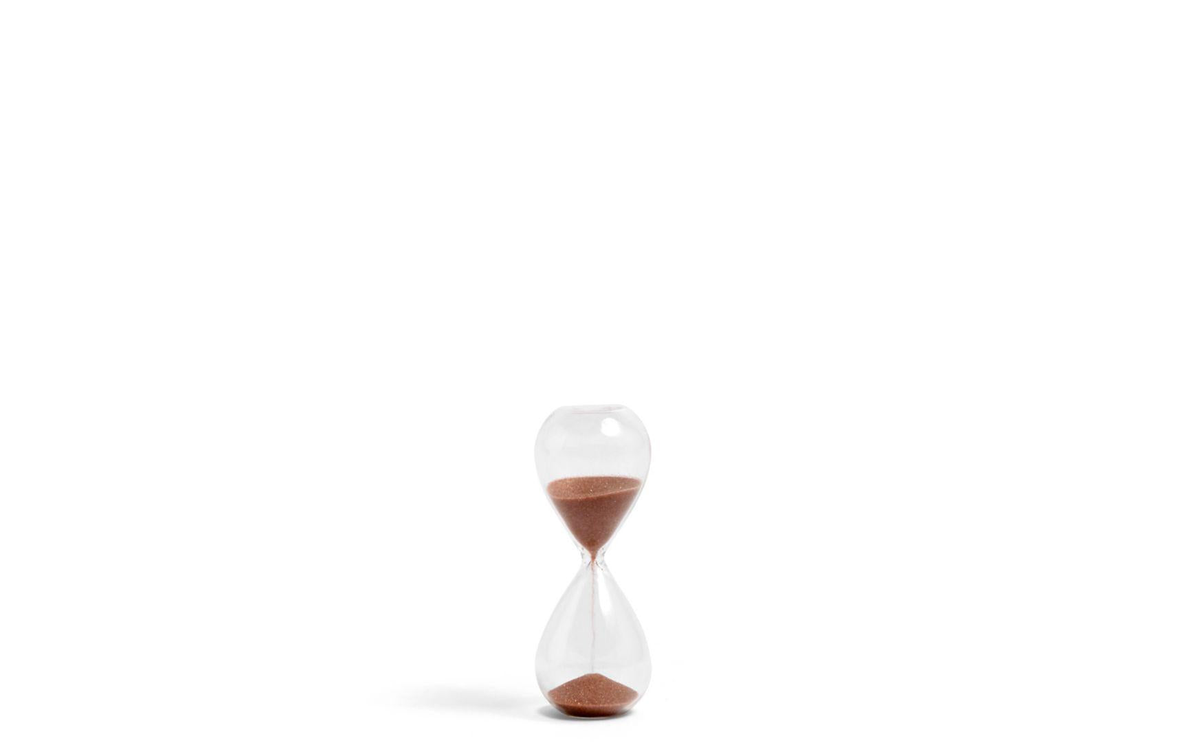 HAY | Copper Hourglass 3 Minute Timer