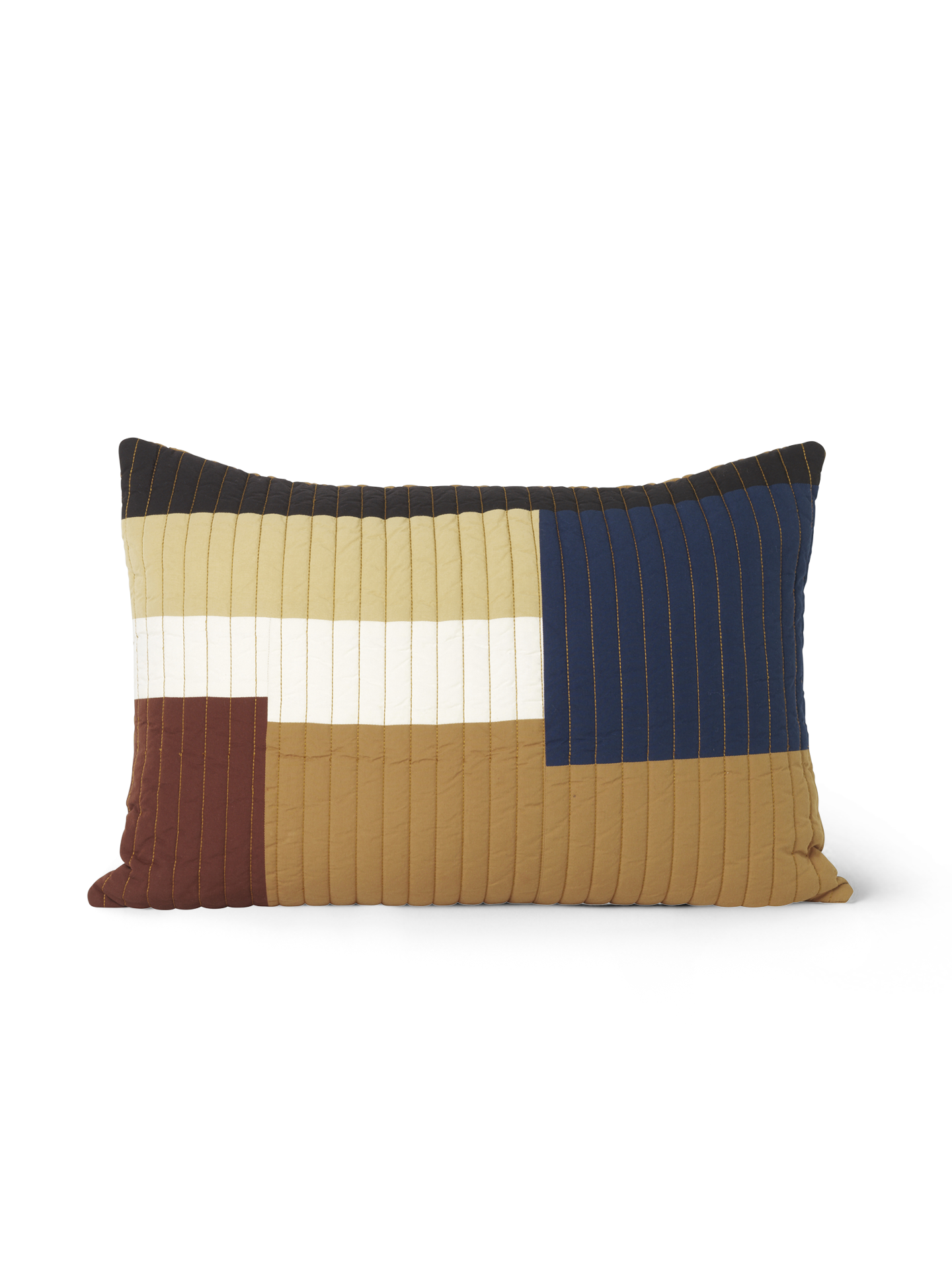 Ferm Living Shay Patchwork Quilt Cushion 60X40