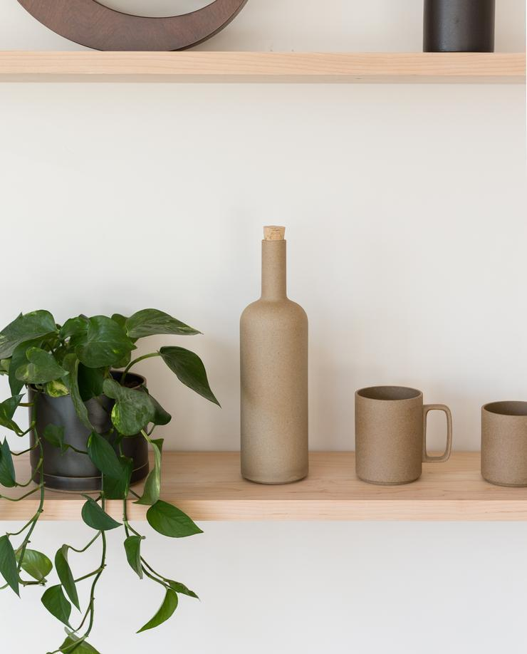 Hasami Porcelain Bottle | Natural