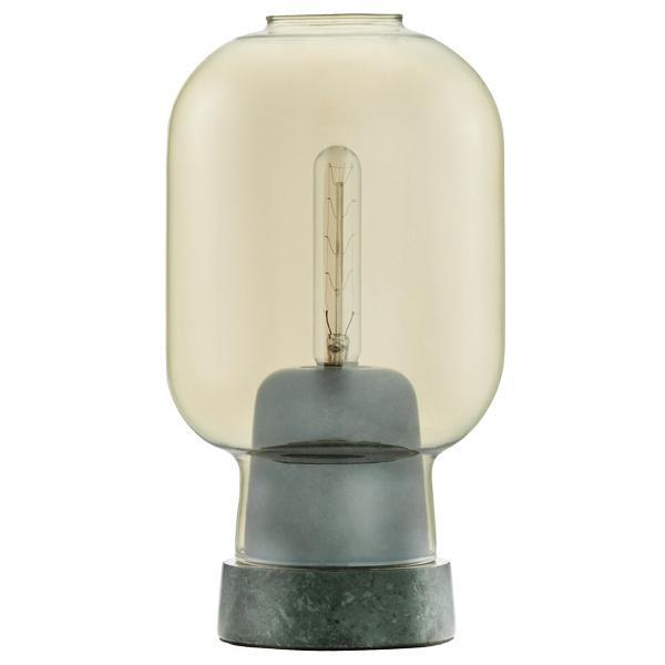 Normann Copenhagen 'Amp Table Lamp Gold/Green'
