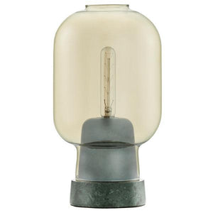 Normann Copenhagen Amp Table Lamp | Gold/Green