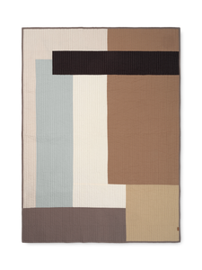 Ferm Living Patchwork Quilted Blanket
