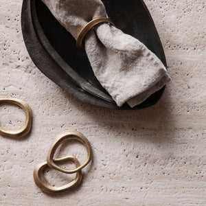 Ferm Living | Flow Napkin Ring Set of 4