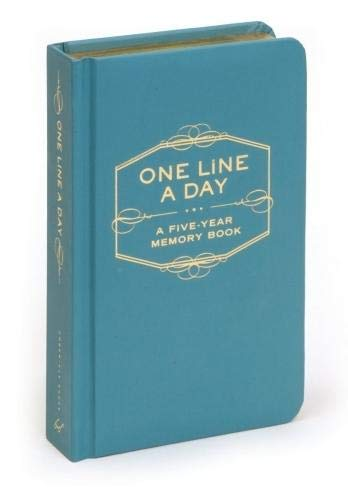One Line A Day: A Five-Year Memory Book (5 Year Journal, Daily Journal, Yearly Journal, Memory Journal)