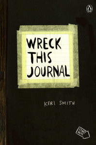 Wreck This Journal Expanded Ed. (Black)