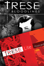 Load image into Gallery viewer, Trese Postcard + Trese Bloodlines Bundle by Avenida