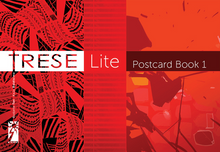 Load image into Gallery viewer, TRESE Lite Postcard Book 1 by Budjette Tan and Kajo Baldisimo available here at Avenida