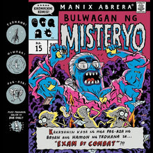 Load image into Gallery viewer, Kikomachine Komix Blg. 15 Bulwagan ng Misteryo ni Manix Abrera available here at Avenida