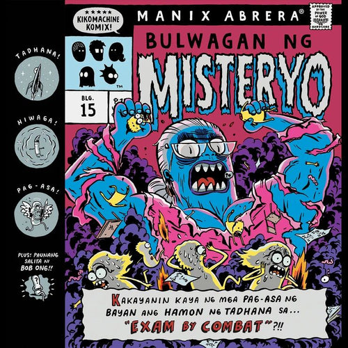 Kikomachine Komix Blg. 15 Bulwagan ng Misteryo ni Manix Abrera available here at Avenida