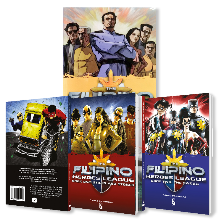 Filipino Heroes League Trilogy by Paolo Fabregas