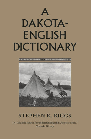 A Dakota-English Dictionary