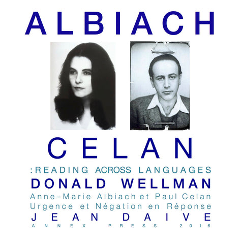 Albiach / Celan: Reading Across Languages