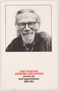 Just Friends/Friends and Lovers: Poems 1959–1962
