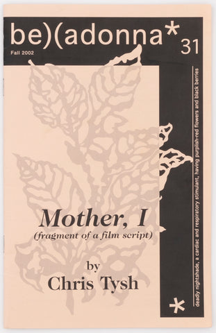 Mother, I (Belladonna* #31)