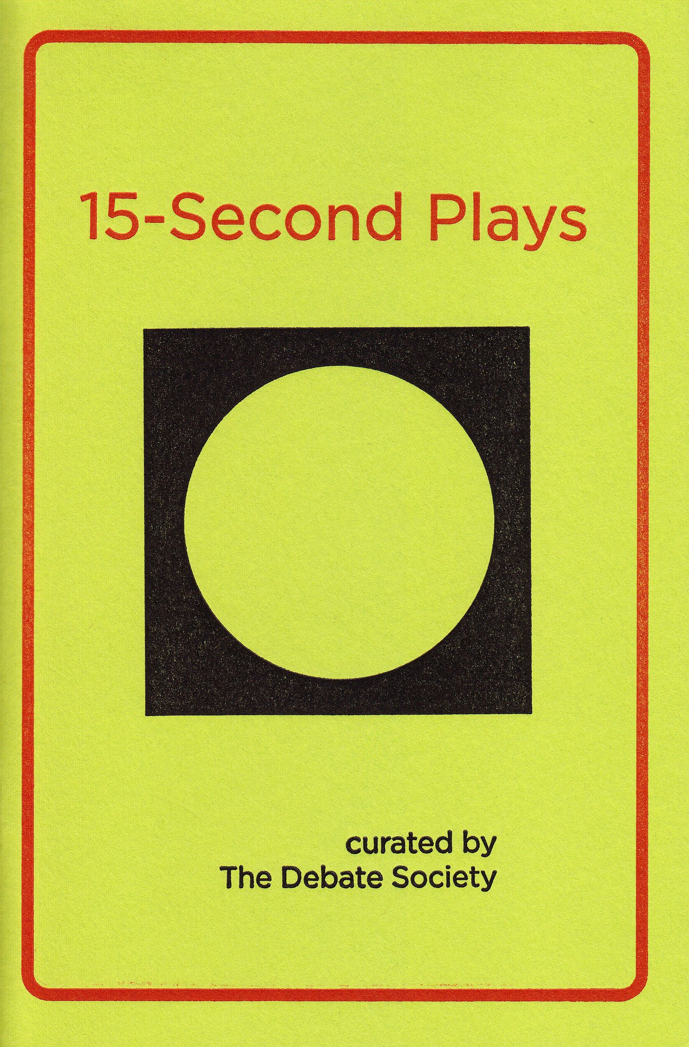 15-Second Plays