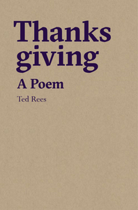 Thanks giving: A Poem