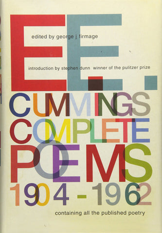 E.E. Cummings: Complete Poems, 1904-1962 (Hardcover)