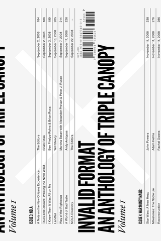 Invalid Format: An Anthology of Triple Canopy Vol. 1