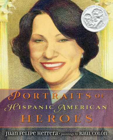 Portraits of Hispanic Americans Heroes (Hardcover)