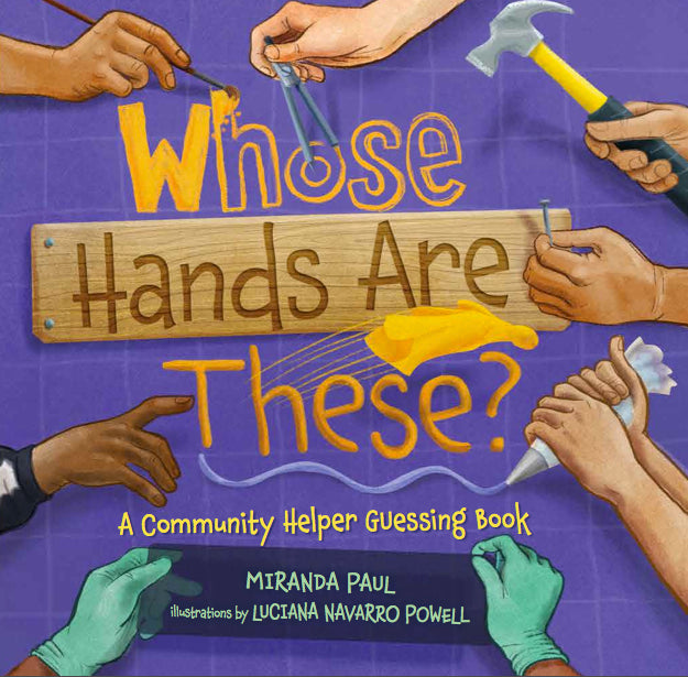Whose Hands are These? (Hardcover)