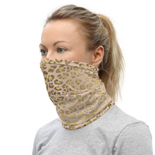 Load image into Gallery viewer, Pale Leopard Print Unisex Neck Gaiter