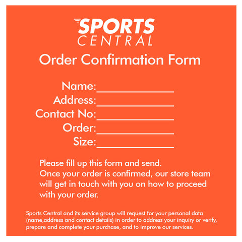 Order Confirmation - Sports Central