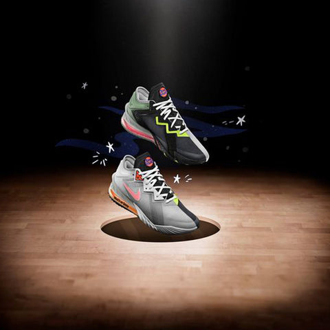 Basketball shoes - Lebron 18 Low X Space Jam- Sports Central