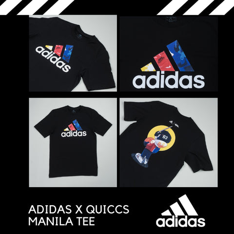 Sports Central online - Adidas x Quiccs MNL tees - Sports Central