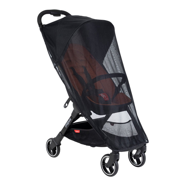 phil&teds go light weight stroller mesh cover 3qtr side view_default