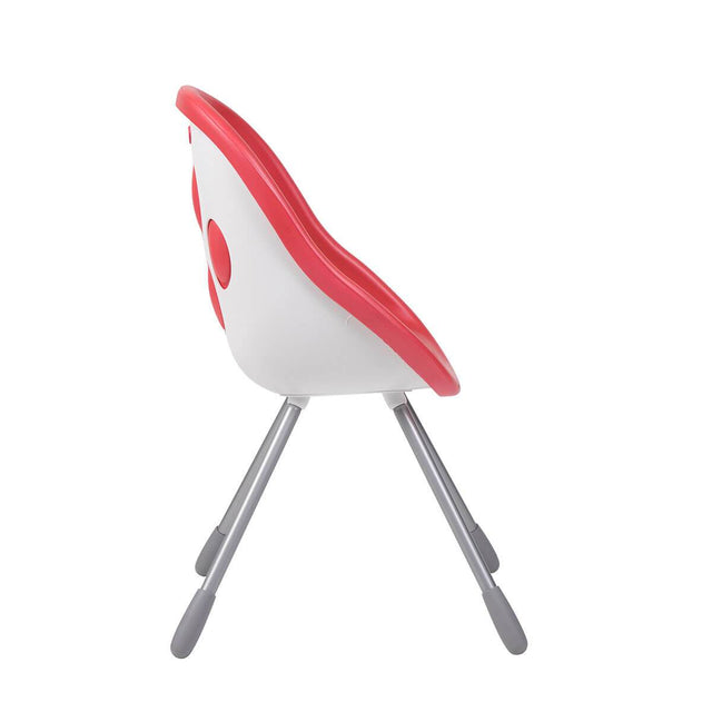 phil&teds award winning poppy my chair in cranberry side view _cranberry