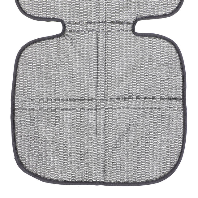 phil&teds® vehicle seat mate™ underside showing non-slip backing to prevent car seat movement_black