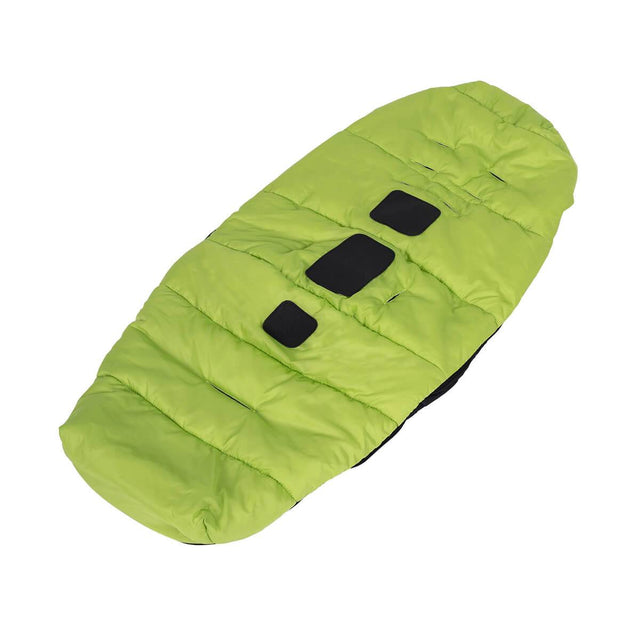 phil&teds snuggle & snooze sleeping bag bottom in apple 3/4 view_apple