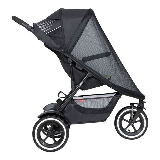 phil&teds sport buggy with sun mesh cover side view_default