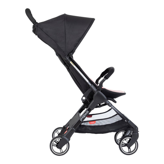 phil&teds go light and compact buggy in blush pink side view_blush