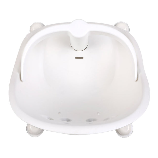 phil&teds poppy bath seat shown from above _white