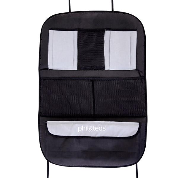 phil&teds vehicle seat back organiser front view_default