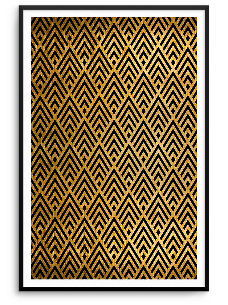 ART DECO II - FINE ART POSTER