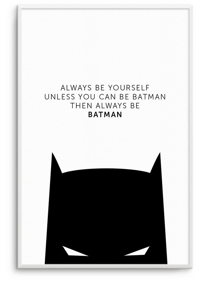 BATMAN - FINE ART POSTER