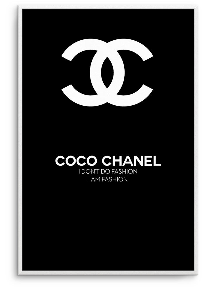 COCO CHANEL FASHION II - FINE ART POSTER