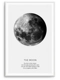 THE MOON - DEKORATİF BASKI