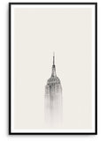 EMPIRE STATE - DEKORATİF BASKI