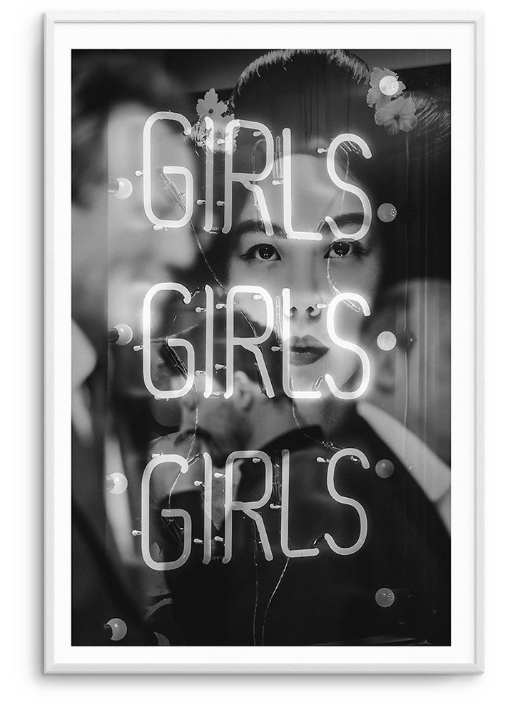 GIRLS - DEKORATİF BASKI