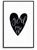 GIRL POWER - FINE ART POSTER