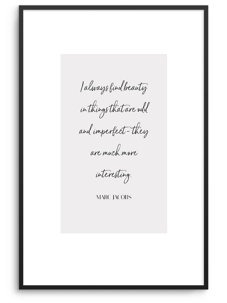 BEAUTY EVERYWHERE - FINE ART POSTER